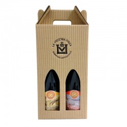 2 beers 75cl in gift box - Choose the combination