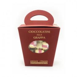 Cioccolatini alla Grappa assortiti 245g