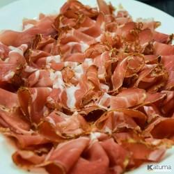 Speckanavese slices Trucano Salumi