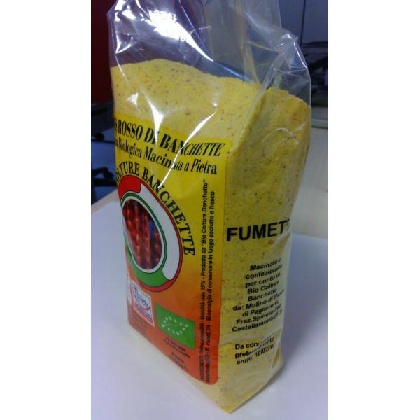 Farina di mais rosso Fumetto BIO 1kg