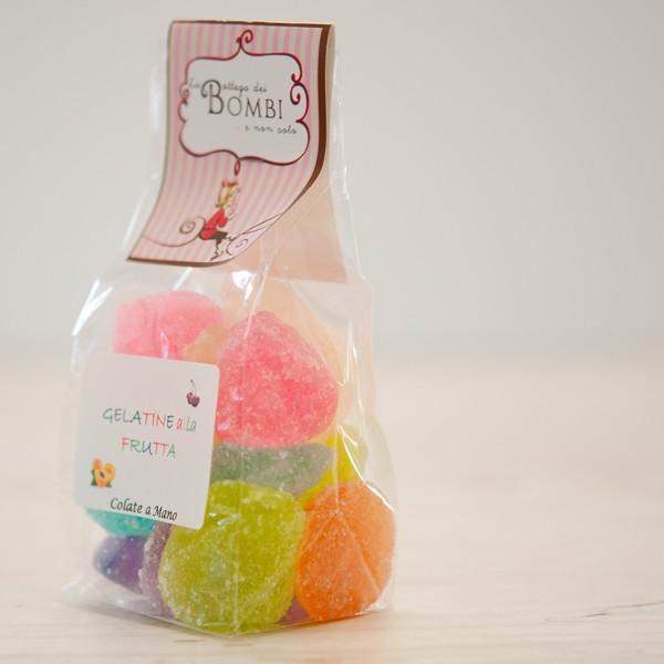 Assorted fruit jellies 500g
